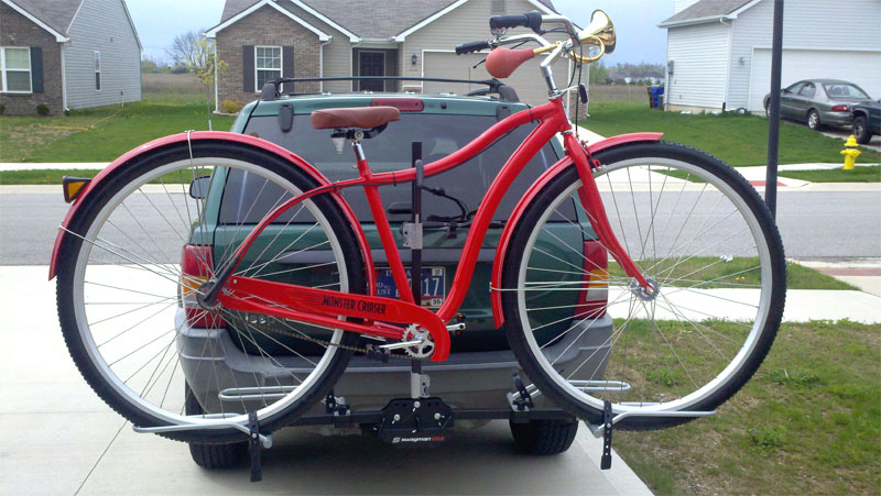 Mike B's 8 foot cruiser bike.